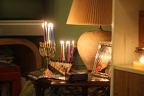 Channukah at Bruce's House